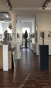 Die Räumlichkeiten der Galerie ARTLET Studio