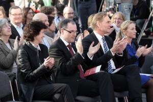 Die Preisverleihung des Preis der Leipziger Buchmesse 2016 in der Glashalle (Foto Leipziger Messe GmbH, Tom Schulze)