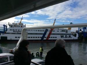 Fähre von Dagebüll nach Wyk auf Föhr