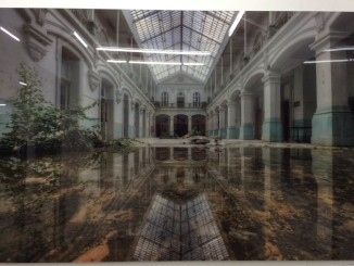 Niki Feijen, Tunnelvision, 180 x 120 cm, Acryl Glas auf Alu Dibond, Edition 3 Expl.; Gallery Rembrandt, Eindhoven, NL (Stand P 0.06)