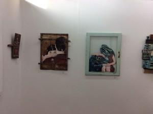 JANA&JS, Never leave me alone, o.J. (rechts) (Galerie Pretty Portal | Düsseldorf)