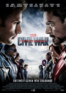 THE FIRST AVENGER - CIVIL WAR Copyright Marvel 2016