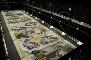 Deckenfresko (© Fotodienst der vatikanischen Museen/ Vatikanischen Museen)