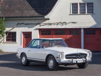 Mercedes Benz 280 SL Pagode (Foto: Galerie Fischer Auktionen AG)