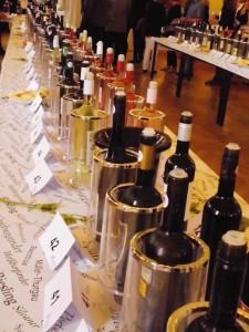Verkostung zur Landesweinprämierung 2016 im Ratskellersaal Naumburg. Foto von Artsplash