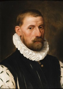 Frans Pourbus I, A portrait of Lamoraal, Count of Egmont, 1579, Oil on panel, 48 x 34 cm, Signed and dated: 'F. Pourbus fe', '1579'. Provenance: private collection, United Kingdom. Mullany Fine Art.